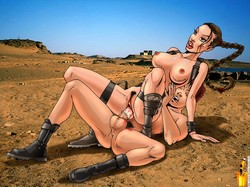 Angelina Jolie Artwork Collection and 3 Porn Comics