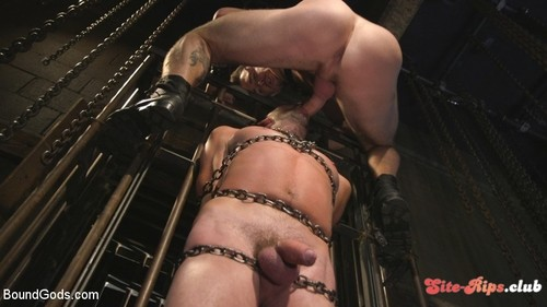 New Sub, Tyler Phoenix: Caged and Tormented  - Trenton Ducati - kink.com