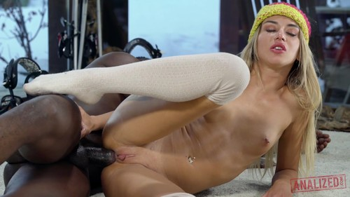 Analized - Katrin Tequila - Katrin Tequila Gets Anal On Her Snowbunny Holiday