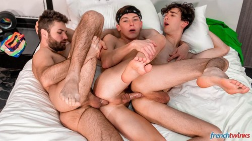 FrenchTwinks – US Road Dick Episode 3 (Paul Delay, Doryann Marguet & Chris Summers)