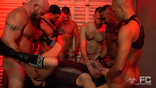 RawFuckClub - Sean Harding Gang Bang Part 1 Bareback