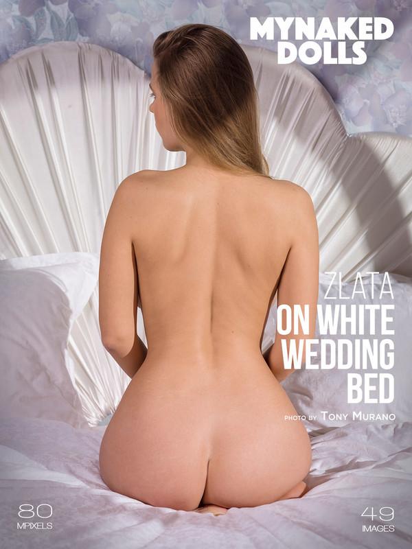 Zlata - On white wedding bed (04-04-2019)
