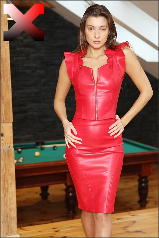 Malena A - Malena Sexy in Red with Toys  (04-04-2019)