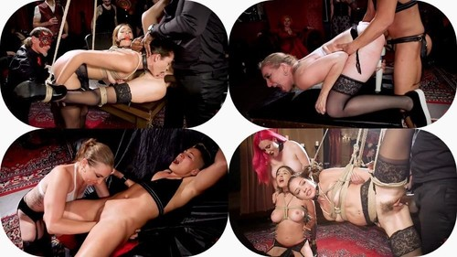 Aiden Starr, Krissy Lynn, Avi Love - Teen Whore Trained In Anal Bondage By Milf Sex Servant (2019/TheUpperFloor.com/SD)