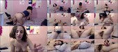 Hairy Aragne playing in bed with music - Aragne Spicy