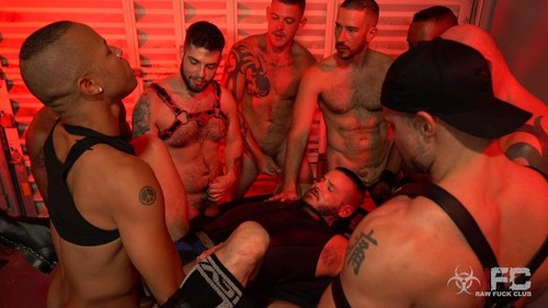 RawFuckClub - Sean Harding Gang Bang Part 2 Bareback