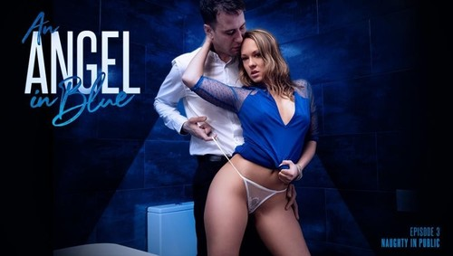Blue Angel - An Angel In Blue Naughty In Public (2019/AssHoleFever.com/HD)