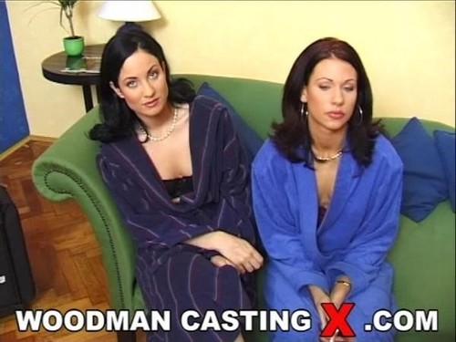 Zita And Drimla - Bts  Sofa With A Man (2019/HD) WoodmanCastingX
