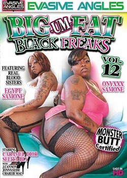 Big Um Fat Black Freaks #12