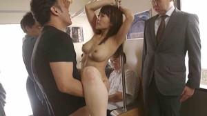 JUY-711 Housewife Part Miserable Train sc4