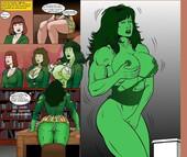 Manic - She Hulk Jobs 2