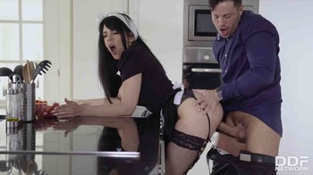 Katrina Moreno - Busty Maid Wants His Juices, HD
