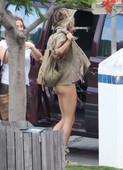 Gisele Bundchen Gets Naked in the Back of a Car