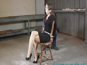 An Evening of Gags With Terra Mizu - Bondage and discipline