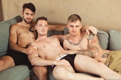 NextDoorOriginals - Caught Watching (Jackson Cooper, Ryan Jordan & Dante Colle) Bareback