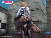 MegaParodies - Spider Gwen X - Rhino 2