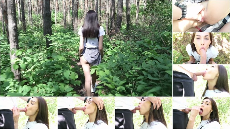 School Girl Makes Blows In The Forest And Takes Cummer In Mouth - Watch XXX Online [FullHD 1080P]