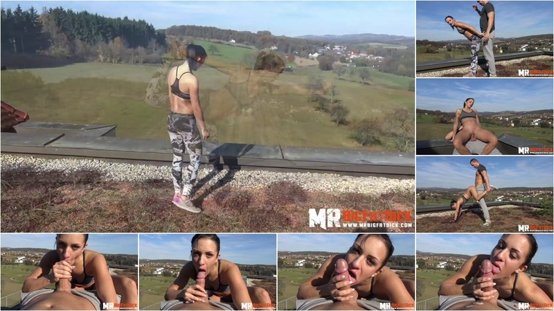 Black Sophie Yoga-Challenge On The Rooftop German - Watch XXX Online [FullHD 1080P]