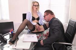 Rose Delight Rose - Blonde Babe Seduces Teacher