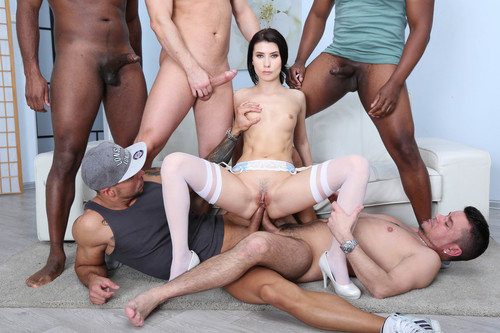 LegalPorno 2019 Nicole Black Is Indestructible Part2 She Tests Her Limits With 10 Guys Two DAP Sessions 720p XXX MP4-CLiP