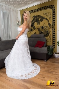 Katerina Hartlova - In my Wedding Dress and some