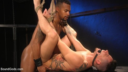 BoundGods - Training Day: Newbie Vincent O'Reilly Is Taught The Ropes By Jacen Zhu