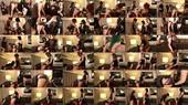 Mouth Fucking Part 2 FemDom Strap-On Gangbang - Mistress Natalya Sadicci, Mistress Daisy Ducati, Mistress Quinn Helix, Denali Winter, AliceInBondageLand