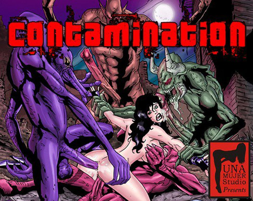 Contamination (MonsterBabeCentral) Cover