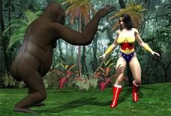 Aemi1970 - Wonder Women Vs Gorilla