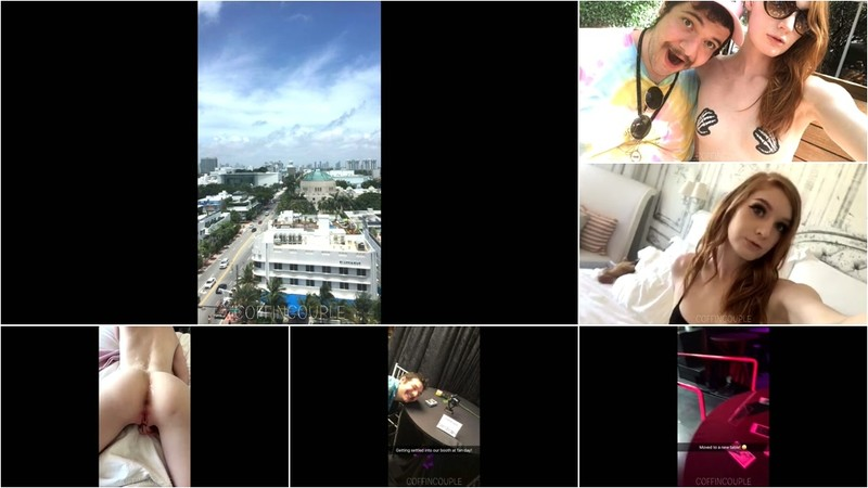 Coffincouple - Miami Snapchat Compilation [FullHD 1080P]