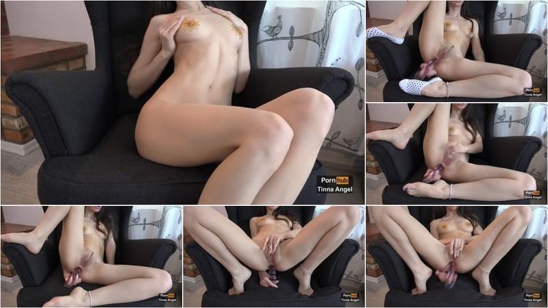 TinnaAngel - Petite Babe Intense Anal Play [FullHD 1080P]