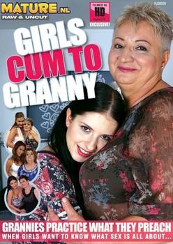 Girls Cum To Granny