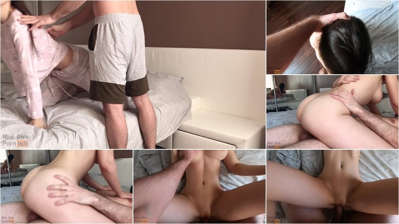 Mini Diva - Teen with Perfect Tits has Passionate Sex in the Morning [FullHD 1080P]