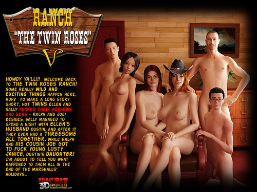 Ranch The Twin Roses 1-5 Cover