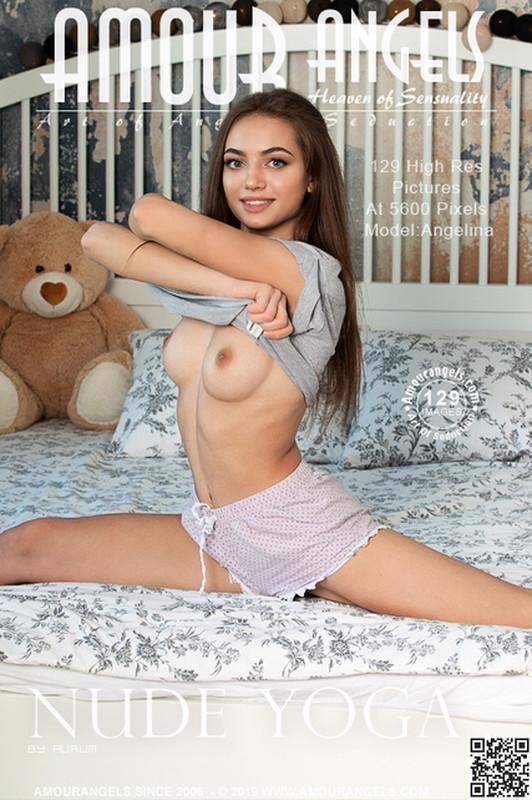 Angelina in Nude Yoga