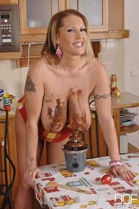 Laura Orsolya - Laura's Knocker Fondue! -