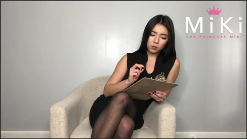 Triggered by sex addiction Therapist-Fantasy - Princess Miki  - iwantclips