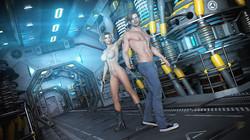 Looks Can Kill - Space XXX - Hard Target 3D Adult Comics