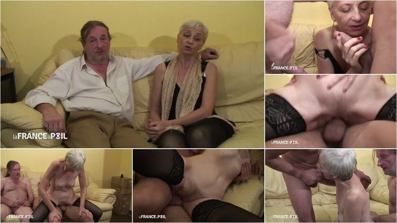 Alia - Older couple fuck on film with young stud [SD 406P]