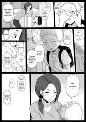 4P Kokujin no Tenkousei ni Osananajimi o NTR ru Hentai Manga