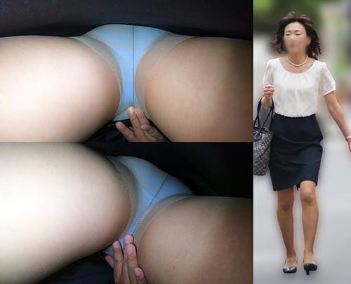 【車内タッチ】「デキる女」営業先を移動中の社内での立場もかなり高そうなキャリア系人妻さん