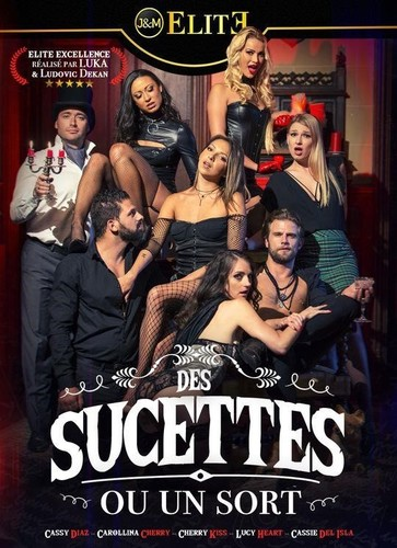 Carollina Cherry, Cassie Del Isla, Cherry Kiss, Cassy Diaz, Lucy Heart, Vince Karter, Lorenzo Viota, Ricky Mancini - Des Sucettes Ou Un Sort [FullHD/1080p]