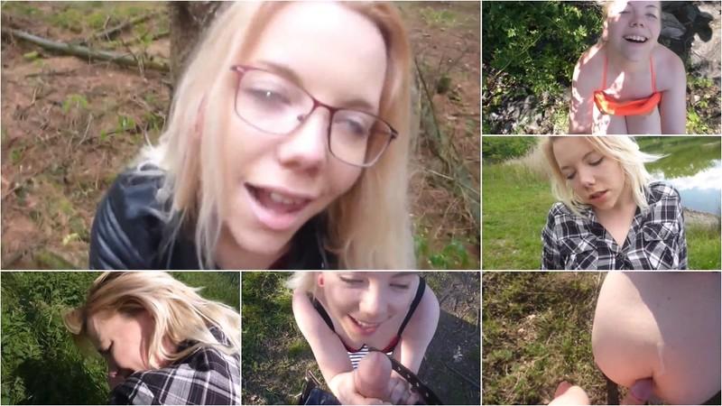 JuleStern - Best of Outdoor-Sex - So geil nutze ich noch die letzten Sonnenstrahlen aus [FullHD 1080P]