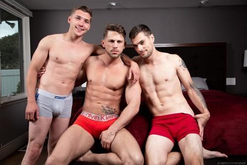 Roman Todd, Elye Black, Princeton Price 'Hard Bros' [Bareback]