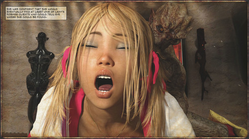 Gonzo - Slayer Apocalypse 6-7 3D Adult Comics