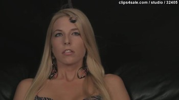 Hypnotized sister masturbates at brother's command